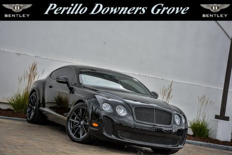 Pre-Owned 2010 Bentley Continental Supersport Mulliner AWD