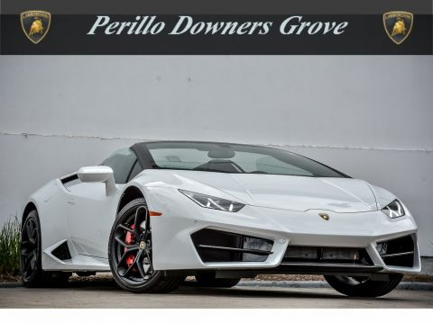 Pre-Owned 2017 Lamborghini Huracan Spyder LP 580-2 Rear Wheel Drive Convertible