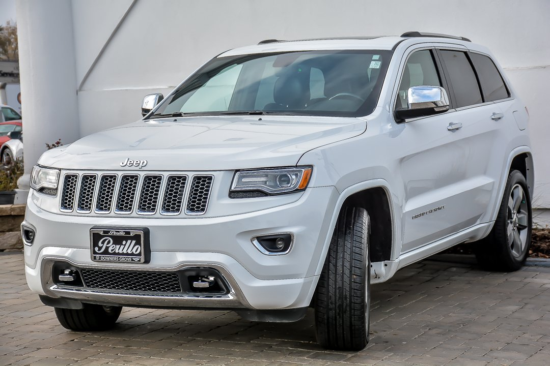 pre owned 2015 jeep grand cherokee overland with navigation sport utility in downers grove. Black Bedroom Furniture Sets. Home Design Ideas
