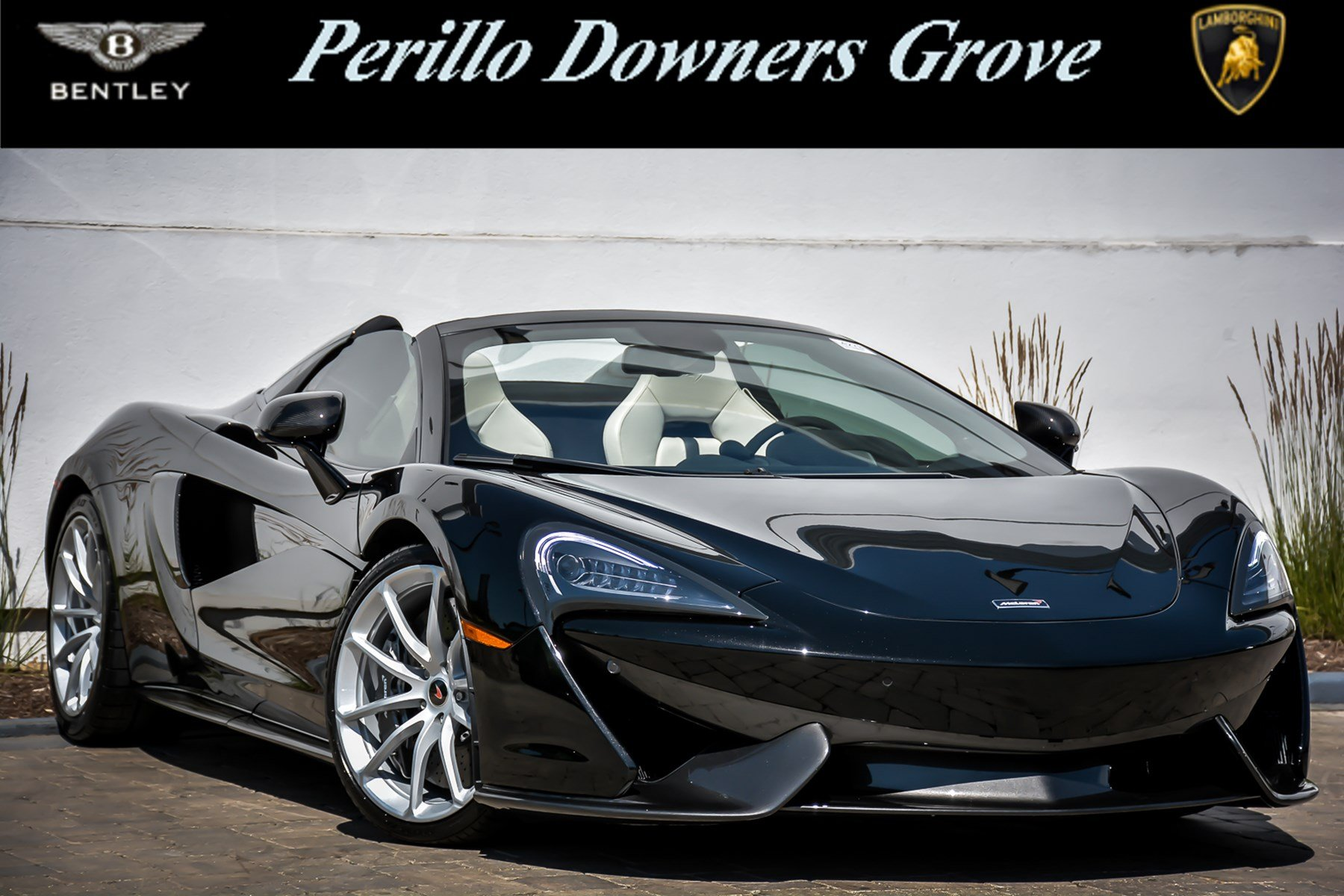 Pre Owned 2018 McLaren 570S Spider With Navigation Convertible in