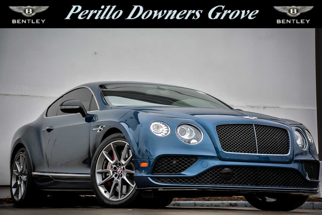 Pre-Owned 2016 Bentley Continental GT V8 S 2dr Car in Downers Grove ...