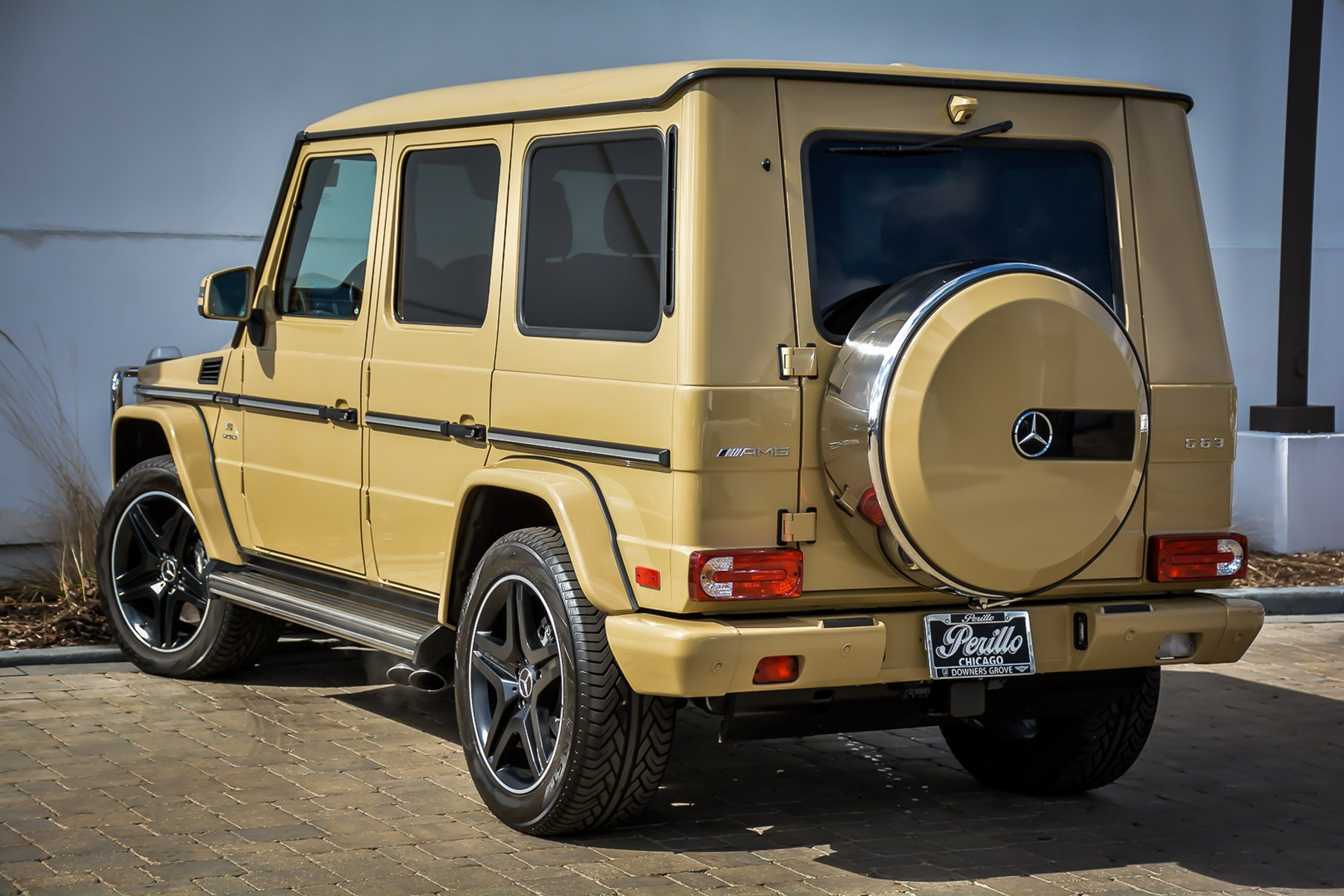 Pre owned 2017 mercedes benz g class amg g 63 with for Mercedes benz downers grove