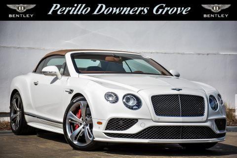 New 2017 Bentley Continental GTC Speed Mulliner with Navigation & AWD